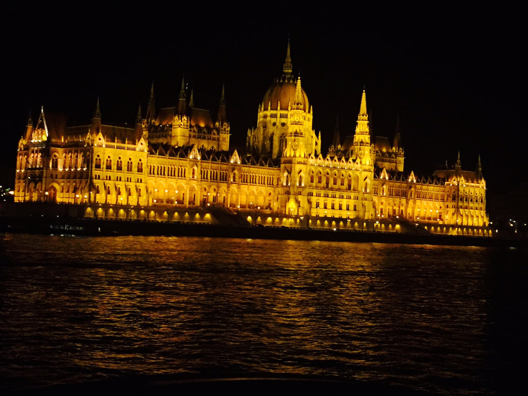 Parliament Building on the Illumination Cruise